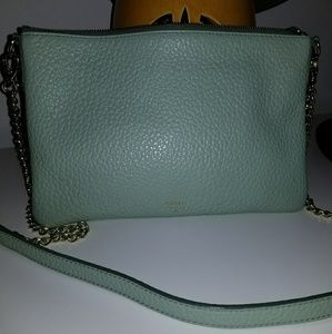 Fossil Mint Green Crossbody Bag